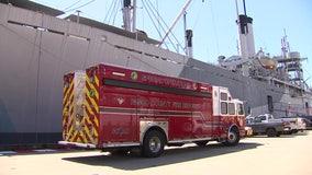 Historic ship provides unique training opportunity for Pasco rescue teams