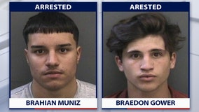 FHP: 2 teens arrested for racing after state trooper clocks them speeding 100 mph