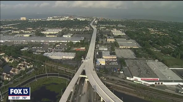 After three years of construction, Selmon Expressway extension opens Monday afternoon