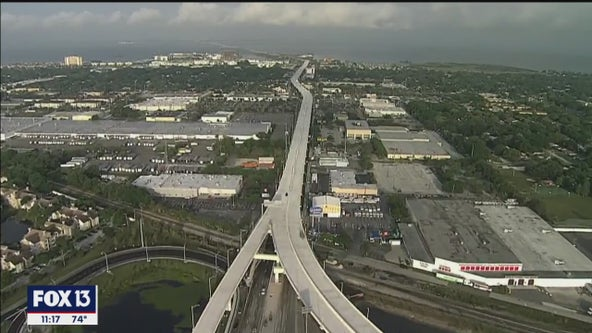 Final Selmon Expressway extension over Gandy Blvd. opens Monday