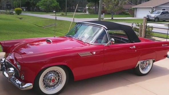 Great Rides: 1955 Ford Thunderbird