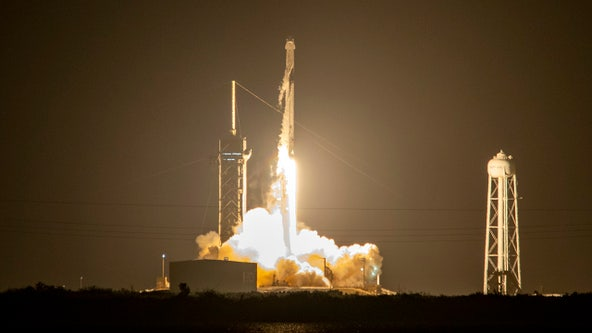 Godspeed! SpaceX launches 4 astronauts to the International Space Station
