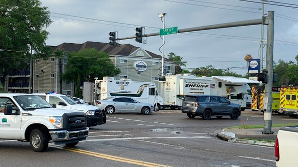 Woman, baby safe after being held hostage inside Tampa motel for hours