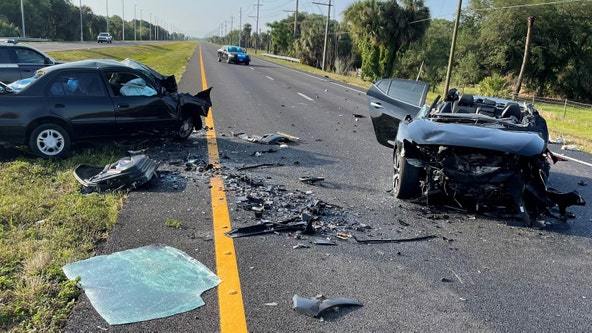 FHP: 1 killed, 1 critically injured in wrong-way crash on US 41