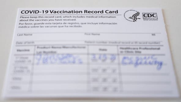 Vaccination card questions answered by health officials
