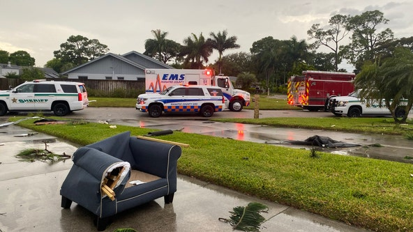 Severe weather injures 1, damages 20 homes in Manatee County