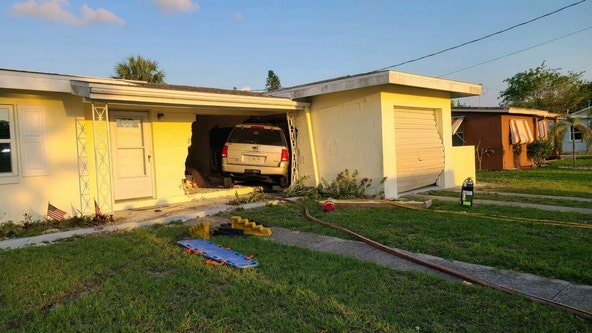 Port Charlotte man crashes into home, seriously injures 89-year-old man inside, troopers say