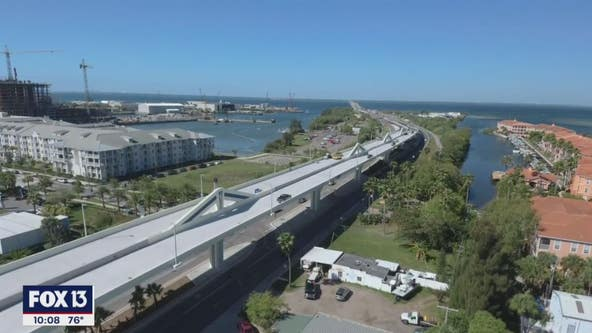 West extension of Selmon Expressway will open on Monday