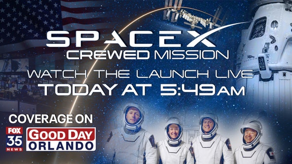 NASA, SpaceX aim for 3rd crew launch before Friday's sunrise