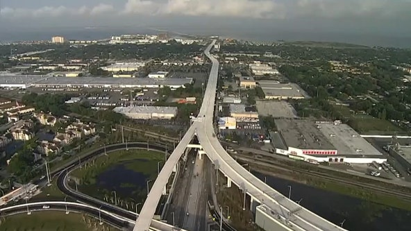 After three years of construction, Selmon Expressway extension opens