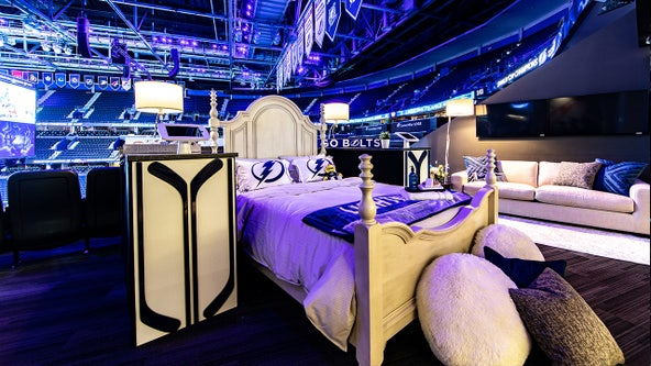 Chill out with Stanley: Six Lightning fans can spend the coolest night at Amalie for charity