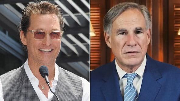 Matthew McConaughey leads Gov. Greg Abbott in new poll for Texas governor race