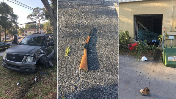 Sarasota police: 15-year-old uses stolen vehicle to break into business, steal firearms