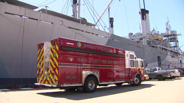Historic ship provides unique training opportunity for Pasco rescue teams