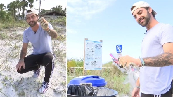 TikTok star with huge following inspires others to keep beaches and parks clean