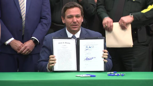 Gov. DeSantis signs anti-riot bill imposing harsher criminal penalties on violent protesters