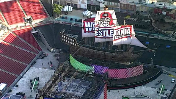 Despite rain delays, WrestleMania 37 kicks off at Raymond James Stadium