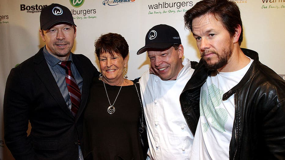 Wahlburgers Grand Opening