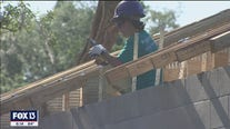 Women build Habitat for Humanity house