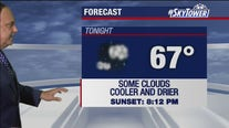 Thursday evening weathercast