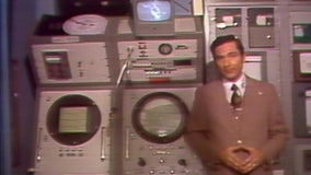 From 1975: Roy Leep tour of WTVT's weather center