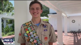 Sarasota Eagle Scout earns ever possible merit badge from Boy Scouts of America