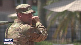 University of Tampa grad pulls off a college-baseball-military trifecta