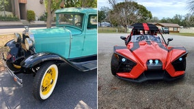 Great Rides: 1930 Ford Model A and 2015 Polaris Slingshot