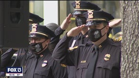 Tampa police remember 32 officers killed in the line of duty