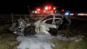 Woman arrested for DUI after fiery crash with tanker truck