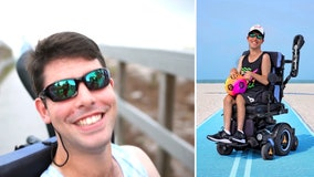 25-year-old with Cerebral palsy -- and a smile that shines -- becomes new Surf Style model