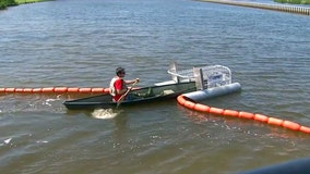 Litter Gitters deployed in Bay Area waterways to remove trash