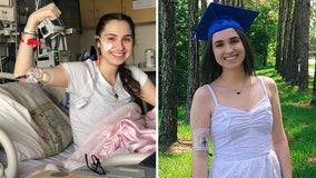 'I don't make excuses for myself': Rare diagnosis inspires Riverview grad to become a pediatric nurse