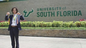 Teen to become youngest USF graduate