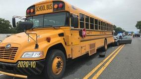 8-year-old girl in passenger vehicle dies in crash involving school bus