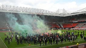 Manchester United fans storm stadium demanding Glazer family sell club