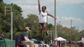 USF long jumper eying program record