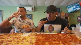 Dunedin restaurant challenges guests to eat a nearly 3-foot pizza