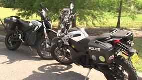 Quiet and eco-friendly: Largo police unveil new electric motorcycles