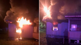 Paralyzed woman rescued from burning home by Hernando deputies