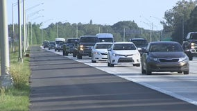 Watch for buses driving on I-275 shoulder in Pinellas County next month
