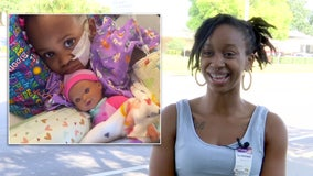 Mother 'thanking God' that daughter is recovering after being shot by 3-year-old brother