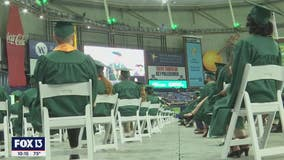 Thousands of USF graduates come together for in-person commencement