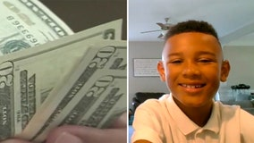 9-year-old finds $5,000 under floor mat while cleaning family SUV