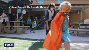 Ronald McDonald house honoring heroes with Super Kids campaign