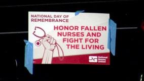 Candlelight vigil held for Bay Area nurses