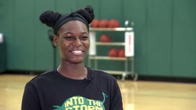 USF's 'Machine' Manunga: A fierce leader both on and off the court