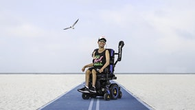 With a contagious smile, St. Pete man with Cerebral palsy becomes model for Florida beachwear company