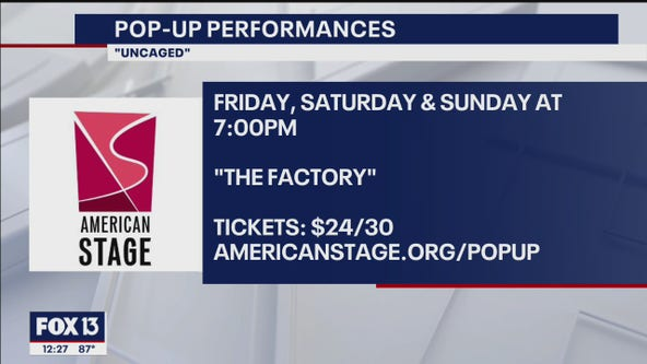 Catch a variety show at weekend pop-up stage in St. Pete