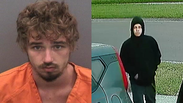 1 arrested, 1 on the run after suspects burglarize Carrollwood home while couple sleeps inside